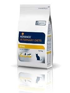 Advance Veterinary Diets Croquettes pour Chat Troubles Rénaux 1,5 kg
