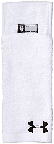 Under Armour - Serviette de football américain Under armour Towel blanc