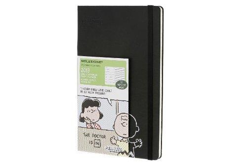 Moleskine Peanuts Large Weekly Notebook Dairy / Planner 2013 Calendar