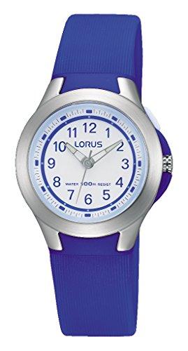 Lorus Reloj Analogico para Unisex de Cuarzo con Correa en Silicona R2399JX9