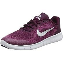 Nike Free RN 2017 (GS), Zapatillas de Atletismo para Niñas