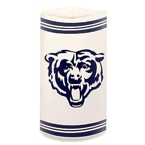 """Chicago Bears NFL 6"""" Big Logo LED Candle"""