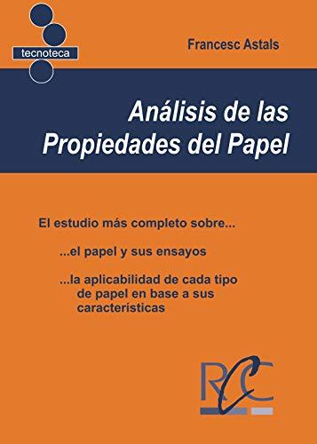 Analisis de las propiedades del papel por Francesc Astals