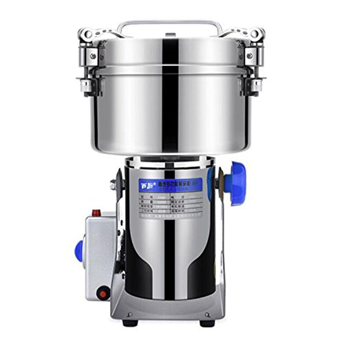 2500g 220V 550W High Performance Grain Grinder Mill Powder Stainless Electric Machine Swing Commercial Type