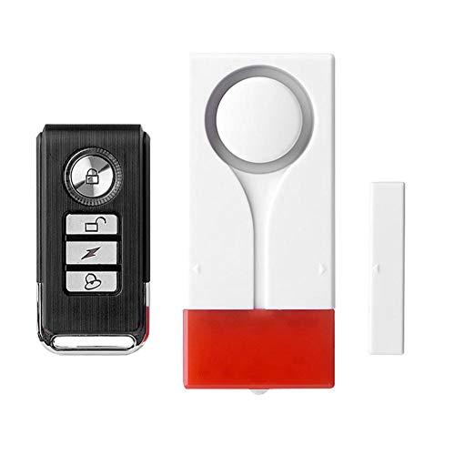 YouN Wireless Door Window Sound Voice Light Remote Control Magnetic Alarm (B) Diy Wireless-alarm-kit