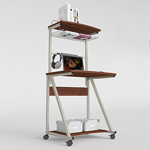 FEI Computer Schreibtisch Schreibtisch mit Hutch Modern Style Arbeitsplatz Schreibtisch für Zuhause oder Büro (Farbe : A, größe : Without Keyboard Support)