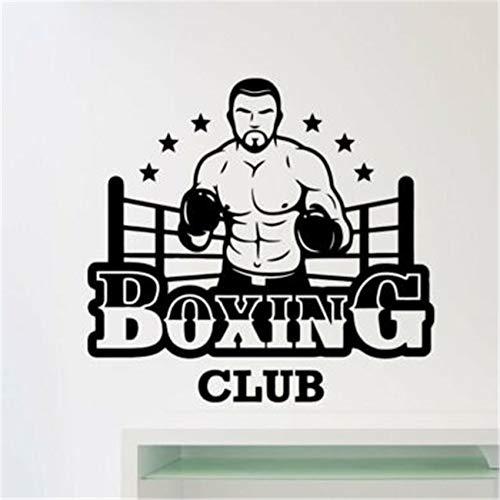 BailongXiao Club Boxen Logo Wohnzimmer abziehbild Kunst Dekoration Dekoration abnehmbare Vinyl kinderzimmer kinderzimmer wandaufkleber 87x93 cm