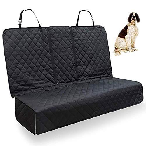 Gaxyd Coprisedili per Cani, Protezione per Sedili Posteriori Animali Domestici con Alette Laterali, Antiscivolo Resistente per Camion E SUV per Auto 135 * 122 Cm