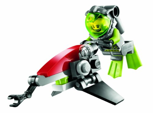 LEGO Atlantis 8072 - Unterwasserflitzer, 23 Teile
