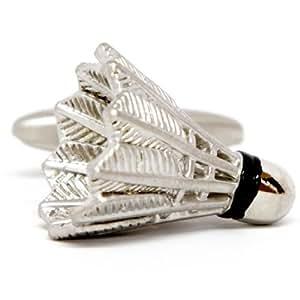 Silver Smith - Argent Birdie De Badminton Boutons De Manchette