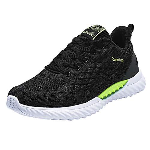 Sportliche Running-schuh (Dragon868 Outdoor Sport Running Schuhe Leicht Wander Sneakers Herren Freizeit Straßen Laufschuhe Mesh Atmungsaktiv Fitness Turnschuhe)