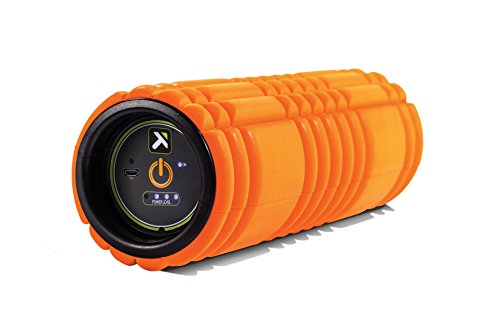 TriggerPoint Performance Unisex's Grid Vibe Vibrating Foam Roller, Orange, One Size