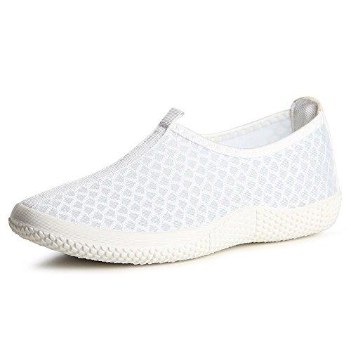 topschuhe24, Ballerine donna Bianco