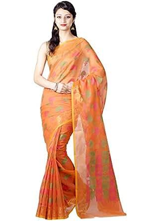 Chandrakala Cotton Saree (9429_Orange)