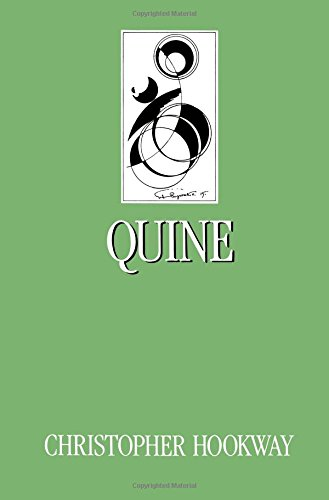 Quine (Key Contemporary Thinkers)
