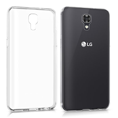 kwmobile LG X Screen Hülle - Handyhülle für LG X Screen - Handy Case in Transparent