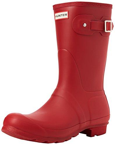 HUNTER Damen Original Short Gummistiefel, Rot (Military Red Mlr), 43 EU