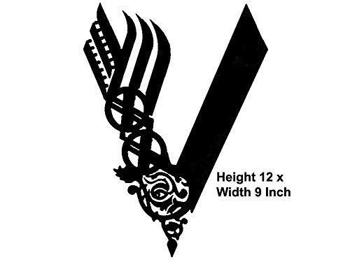 Wandaufkleber aus Vinyl, Motiv NumbTs The Vikings - Kult kanadisches Drama, einfach anzubringen, lustig und lustig für Heimwerker und als Dekoration