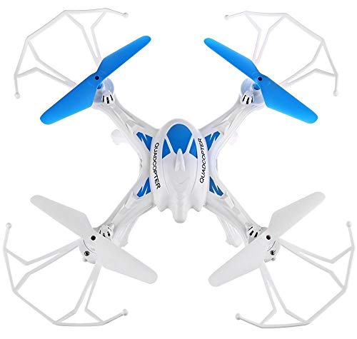 SUPER TOY 6 Axis Gyro 2.4G 6CH RC Quadcopter 360 Degree Rollover Aircraft Helicopter Drone - Multicolour