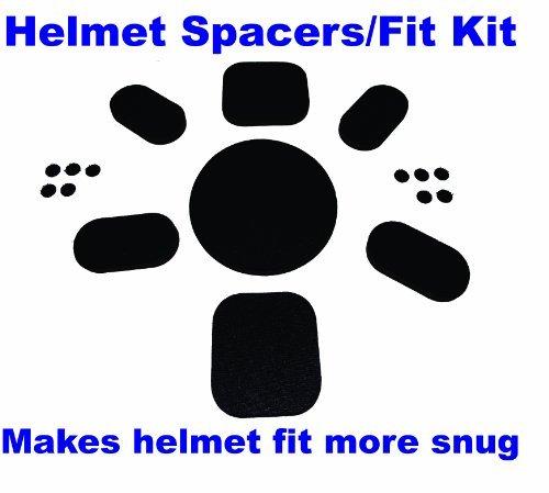 Hinten Haken-pad (Aftermarket Upgrade Fit Kit Universal Pads für Army ACH Mich Helm mit klebenden Haken hinten Seite Punkt Verschlüsse)