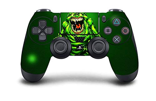 PS4 Dualshock 4 Controller Skin Custom Console Pro Modded Chip Mehrfarbig PS4-Slime Monster PS4 Non-Modded Controller Dual-handset Bundle