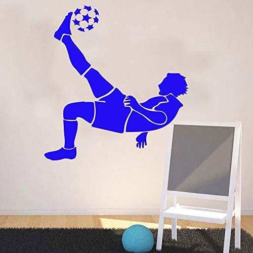 (fenshop Exquisite Fußball Wandaufkleber für Jungen Schlafzimmer Dekoration fußball Aufkleber tapete Wohnzimmer Kinderzimmer wanddekor Murals43 * 46 cm)