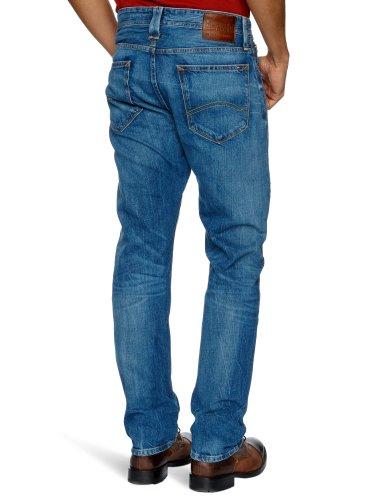 Hilfiger Denim - Ryan LAU - Jean - Coupe droite - Homme Bleu (La Used)