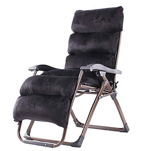 HAIZHEN ZHAIZHEN Chaise Lounge Gravity Chaises longues, Chaises de terrasse en plein air pour salon avec chaises Zero Gravity avec dossier inclinable et rabattable pour le support de terrasse et de pa