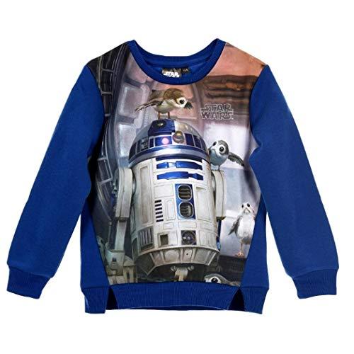 Star Wars Pullover Jungen R2D2 (Blau, 128)