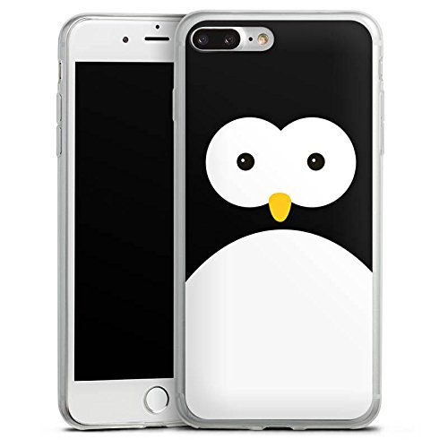 Apple iPhone X Slim Case Silikon Hülle Schutzhülle Pinguin Tiere Cute Silikon Slim Case transparent