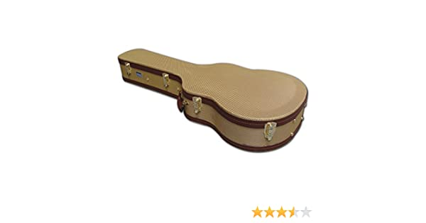 655eac1845 Spider Tweed Dreadnought Acoustic Hard Guitar Flight Case: Amazon.co.uk:  Musical Instruments