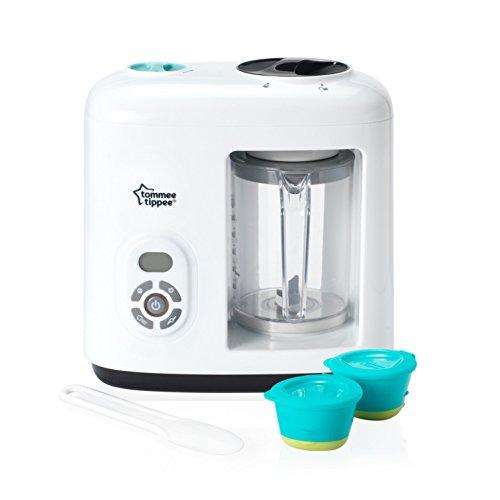 *Tommee Tippee 440065 Dampfgarer & Mixer für Babynahrung, weiß*