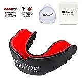 BLAZOR Sports Protège-Dents, Boxe Protege Dent pour Boxe, MMA, Rugby, Muay Thai, Hockey, Judo, Karate, Arts Martiaux et...