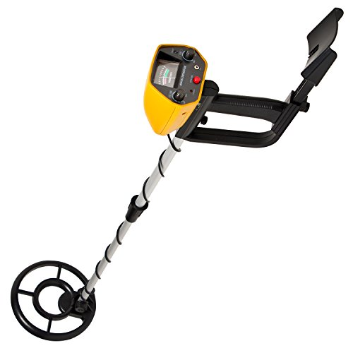 MYLEK-XP-pLus-All-Terrain-Metal-Detector-Kit-FREE-Headphones-3-in-1-Shovel-Tool-Included-Detects-all-Gold-Silver-Ferrous-and-Non-Ferrous-Metals-Lightweight-Compact-Robust-Design-Discriminates-Between-
