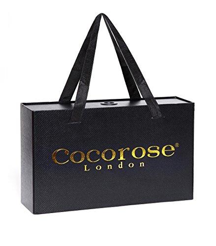 Cocorose Scarpe Pieghevoli - Shoreditch Mocassini Donna Dalmata Pony Capelli