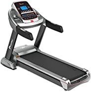 PowerMax Fitness Unisex Adult TAC-510 (4.5 Hp) Semi Commercial Ac Motorized Treadmill With 7.1 Inch Lcd Displa