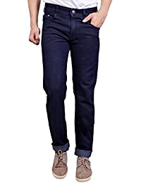 Studio Nexx Men's Carbon Blue Regular fit Jeans