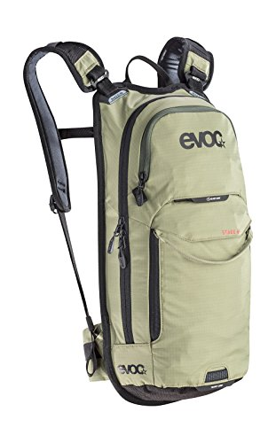 evoc Stage Performance Rucksack, Light Olive, 44 x 23 x 6 cm, 6 Liter
