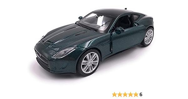 H Customs Jaguar F Type Modellauto Auto Lizenzprodukt 1 34 1 39 Grün Auto