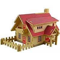 Weihnachten Dekor Türhänger von Malloom, Hölzernes Brett Puzzlespiel des frühen Lernens 3D bauen Spielzeug Kindergeschenk... preisvergleich bei billige-tabletten.eu