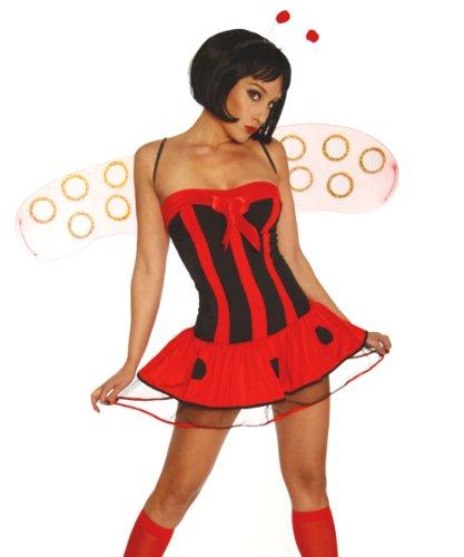 Kleid, Haarreif, Flügel und String Gr. 34-38 (Kostüme Arabe)