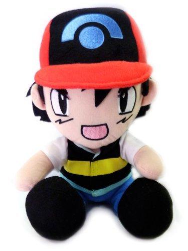 Pokemon Ash Sitting 12 inch Plush Doll