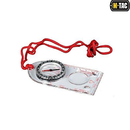 m-tac Kompass, magnetische Überschrift für Karten, Orientierung, Navigation, Wandern, Rucksackreisen, Jagd Basic-marine-navigation