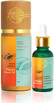 Vanarc Organic Rituals 100% Pure & Natural Papaya Seed Oil –