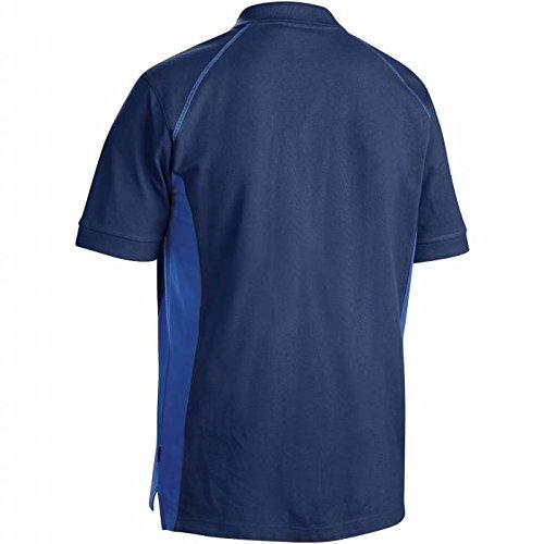 Blakläder Polo-Shirt, 1 Stück, Größe XXL, schwarz / grau, 332410509994XXL marineblau     /     kornblau