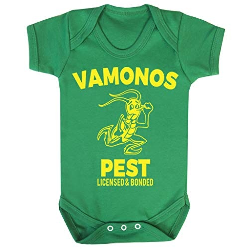 Cloud City 7 Breaking Bad Vamonos Pest Baby Grow Short ()