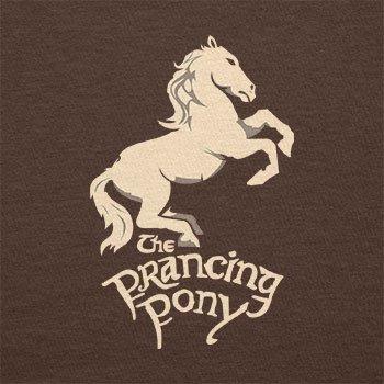 Texlab–The puledro Pony–sacchetto di stoffa Marrone