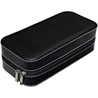 Divinext Men's/Women's Leather Watch Box Organiser Case Multi Slot