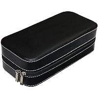 Divinext Men's/Women's Leather Watch Box Organiser Case Multi Slot