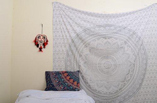 originale-argento-ombre-mandala-tapestry-collezione-unica-da-rawyal-crafts-hippie-wall-hanging-arazz